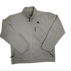 Nike ACG Fleece Jacket Mock Collar Zip Pockets